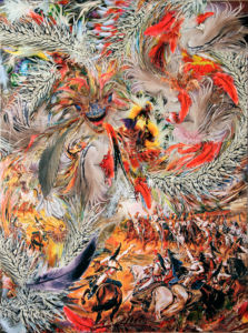 Battle with a feathered serpent 2014